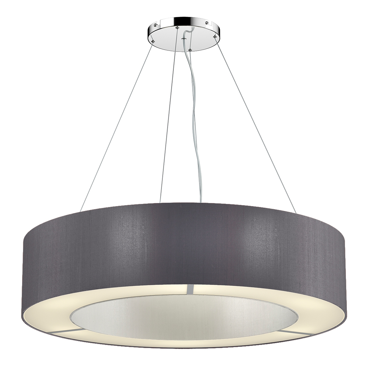 Polo 85cm 6 Light Pendant Two Tone