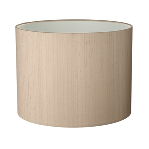 Drum Medium 13cm Silk Shade Two Tone