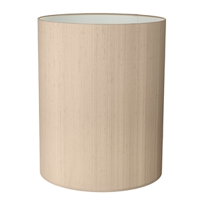 Drum Tall 20cm Silk Shade Two Tone