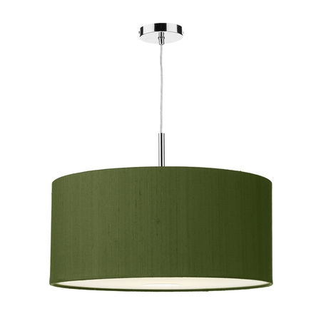 Ellington Silk 50cm 3 Light Pendant
