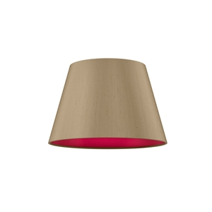 Empire Drum 20cm Silk Shade Two Tone