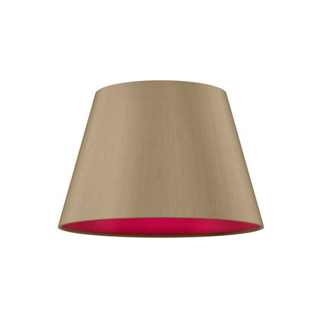 Empire Drum 25cm Silk Shade Two Tone