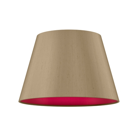 Empire Drum 30cm Silk Shade Two Tone