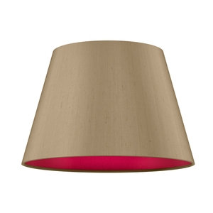 Empire Drum 35cm Silk Shade Two Tone