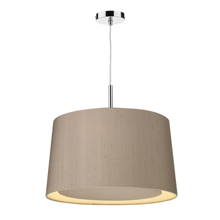 Hastings Silk 50cm 3 Light Pendant