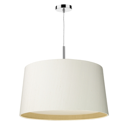 Hastings Silk 60cm 3 Light Pendant Two Tone