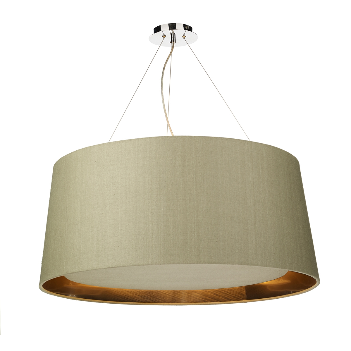 Hastings 80cm 6 Light Two Tone
