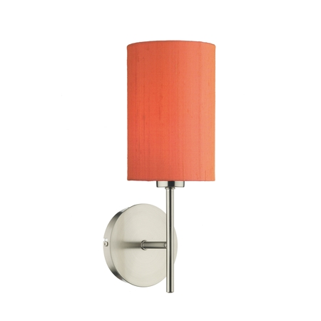 Tuscan Wall Light Satin Chrome