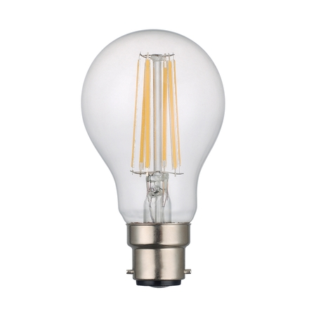GLS Lamp 8w B22 LED Lamp Clear