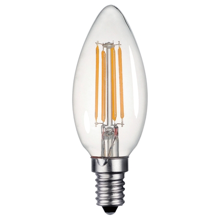 Candle Lamp 4w E14 LED Clear