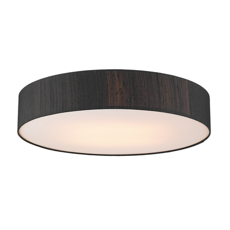 Paolo Silk 80cm 4 Light Ceiling Flush