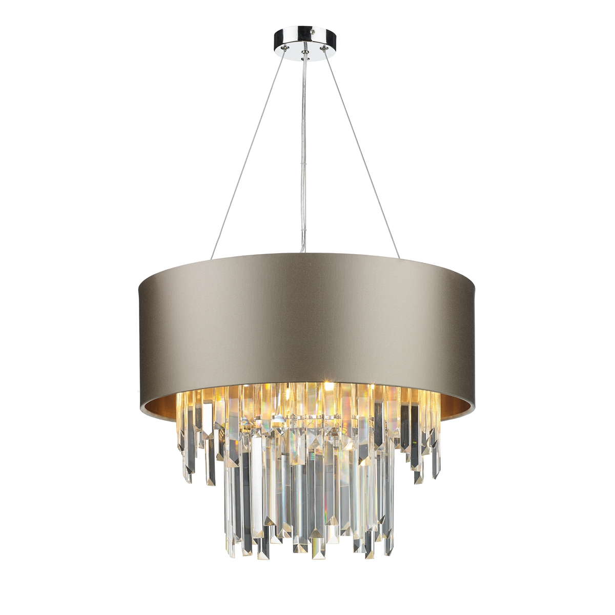 Hurley 6 Light Shaded Chandelier