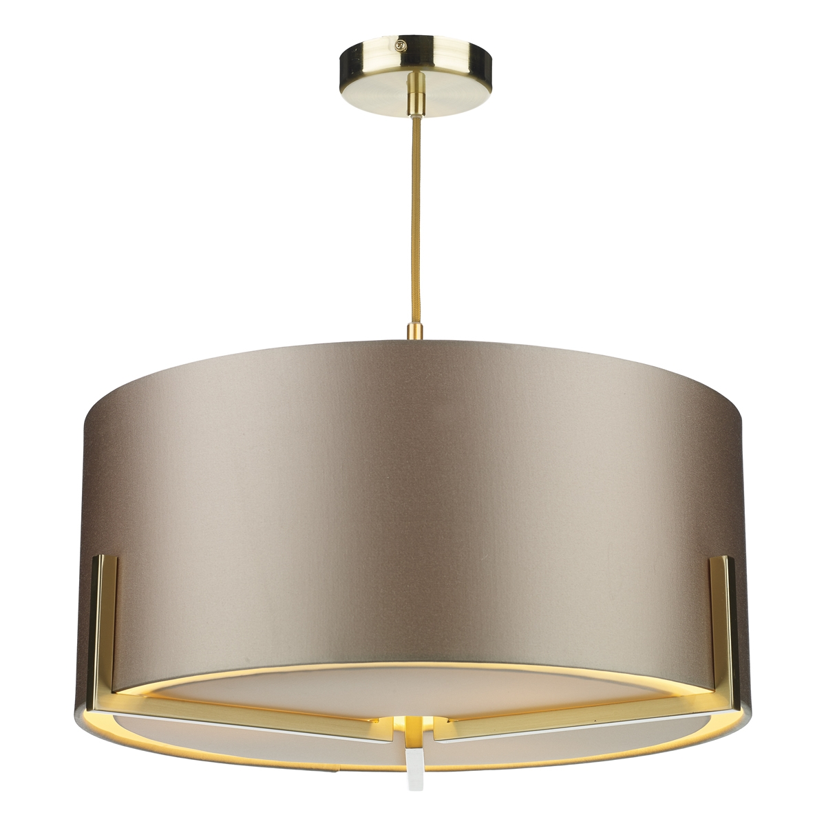 Huxley 3 Light Pendant Gold