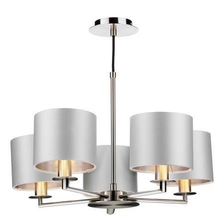 Rex 5lt Pendant Satin Nickel