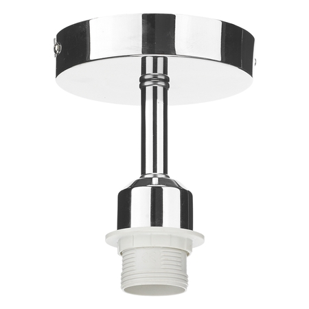 1 Light Semi Flush Suspension